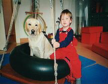 Therapie mit Hund - Kontaktebene